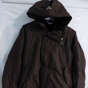 Aritzia TNA, large, brown, honey ryder jacket